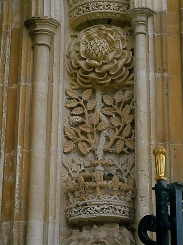 Cambridge King's College - Tudor Rose | by londonconstant