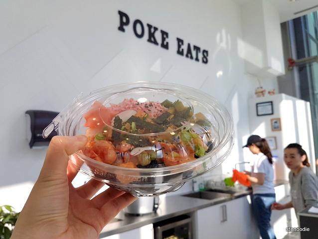 Poke Eats poké bowl
