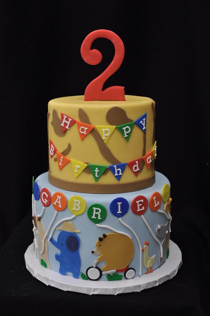 Zoo Parade Birthday Cake Jenny Wenny Flickr