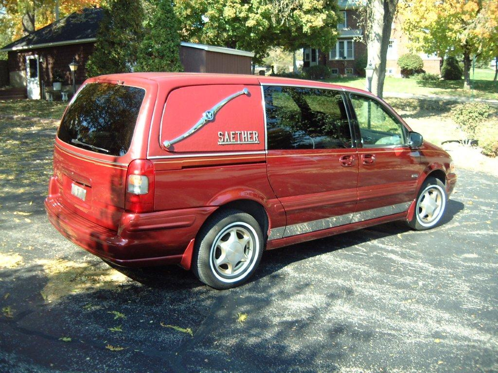 Oldsmobile Minivan Hearse The Last Minivan Coach I Had