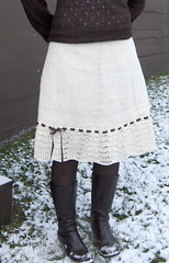 simply lovely lace skirt | by Jaanamaa