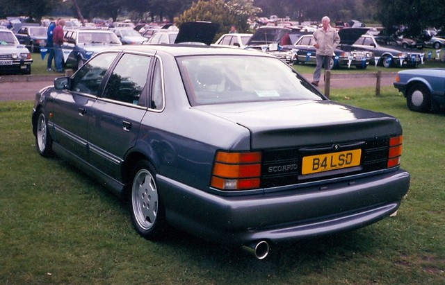 1991 ford granada scorpio 24v cosworth fitted with the. Black Bedroom Furniture Sets. Home Design Ideas