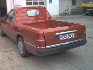 Mercedes-Benz W124 Pickup | q8500e | Flickr