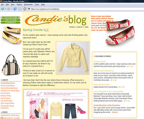 Candie's Blog | by cybele-