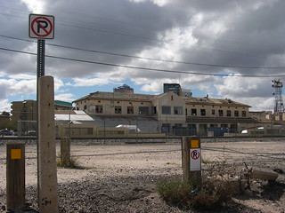 Tucson depot under renovation | by midwinter