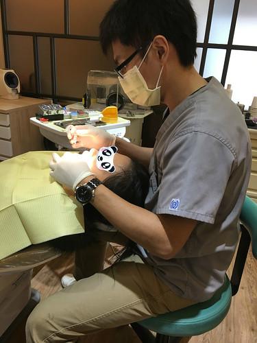 暴牙妹在精品牙醫透過牙齒矯正終於出頭天啦~ (1)