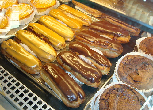 Beautiful Eclairs at St. Honore Boulangerie | by cakespy