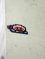 Space invaders in Soho,London | by ideacat