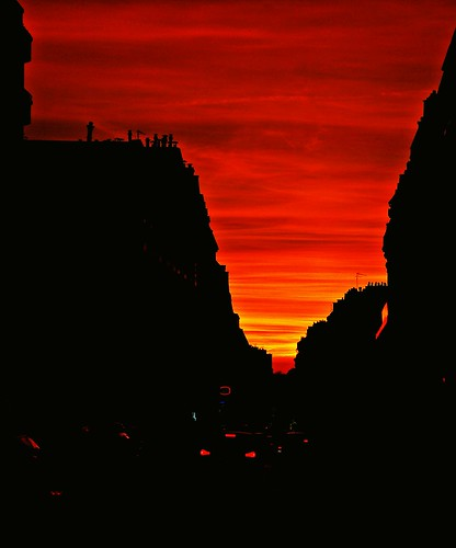 Sunset over Paris ! | by Mr MAMAZ