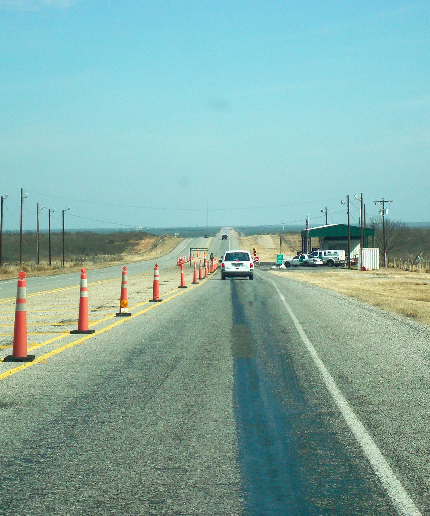 Border Patrol Checkpoint Near Eagle Pass Tx Themuuj