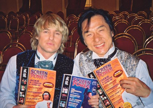 Jackie Chan And Owen Wilson May 2002 Jackie And Co