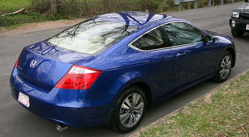 New Honda Accord >> 2008 Honda Accord Coupe LX Belize Blue | a review of this ca… | Flickr