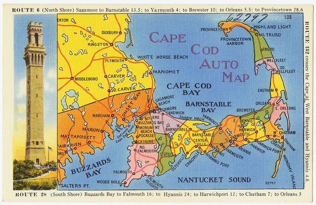Cape Cod Auto Map   File name: 06_10_001324 Title: Cape Cod …   Flickr