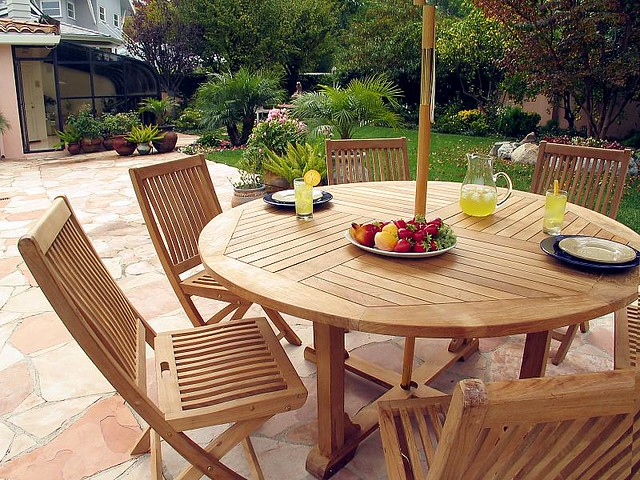 Teak Patio Furniture Abraham Kalili Flickr