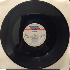 SHANNON:LET THE MUSIC PLAY(RECORD SIDE-B)