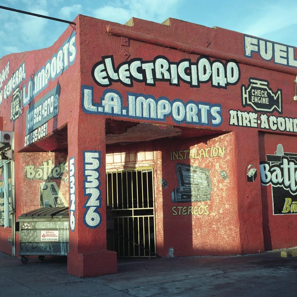 Electricidad, LA imports | by ADMurr
