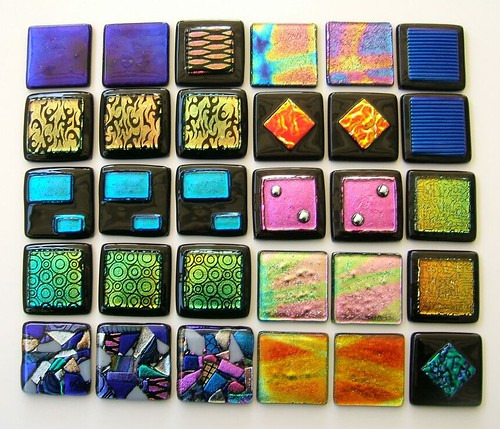 Glass Tile Custom Handcrafted By Uneek Glass Fusions Flickr