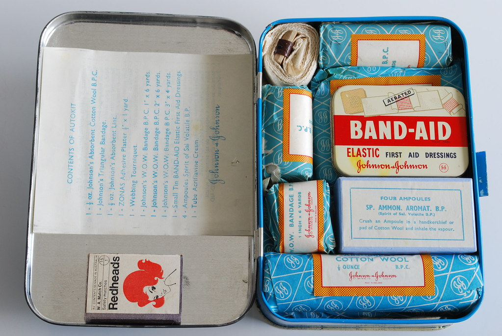 old school first aid kit simon law flickr