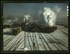 C & NW RR, a general view of a classification yard at Proviso Yard, Chicago, Ill.  (LOC) | by The Library of Congress