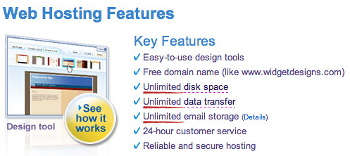 Choosing a web hosting company