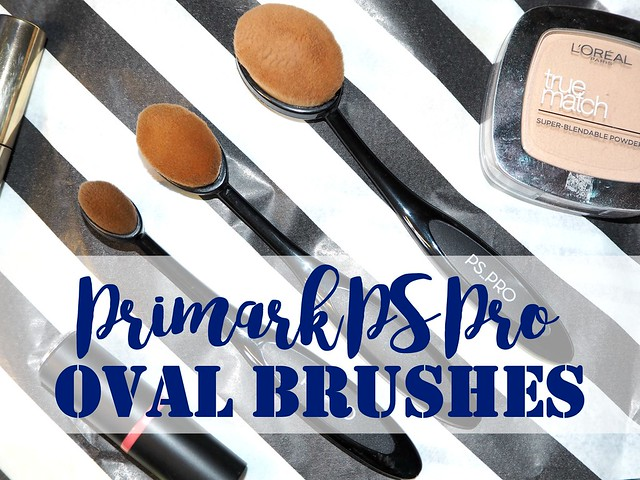 Primark PS Pro Oval Makeup Brushes