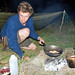 Nick Weston Cooking Chicken of The Woods