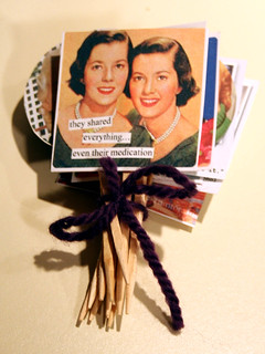 ann taintor cupcake toppers | by freakgirl