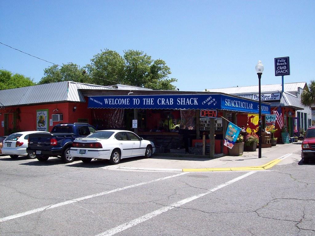 Folly Beach Restaurant Map
