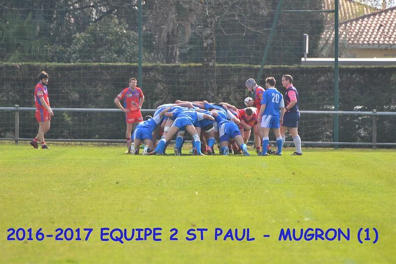 2016-2017 EQUIPE 2 ST PAUL-MUGRON