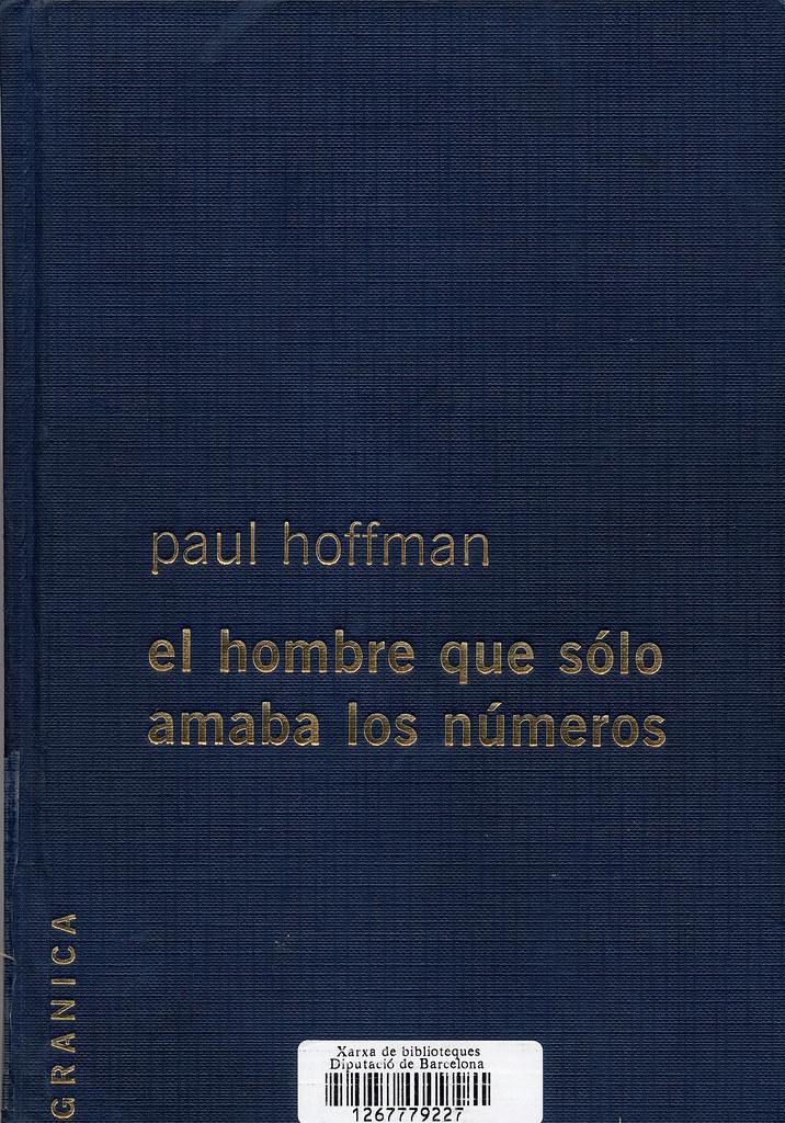 el hombre que solo amaba los numeros paul hoffman
