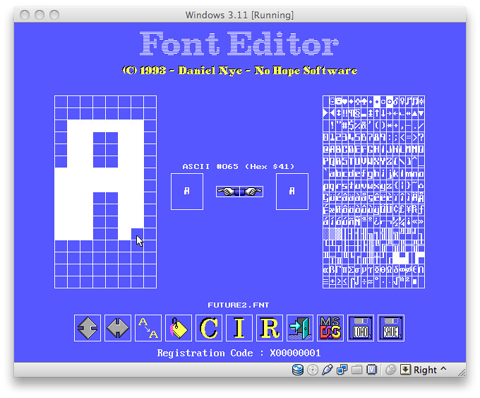 My Font Editor For Ms Dos Flickr