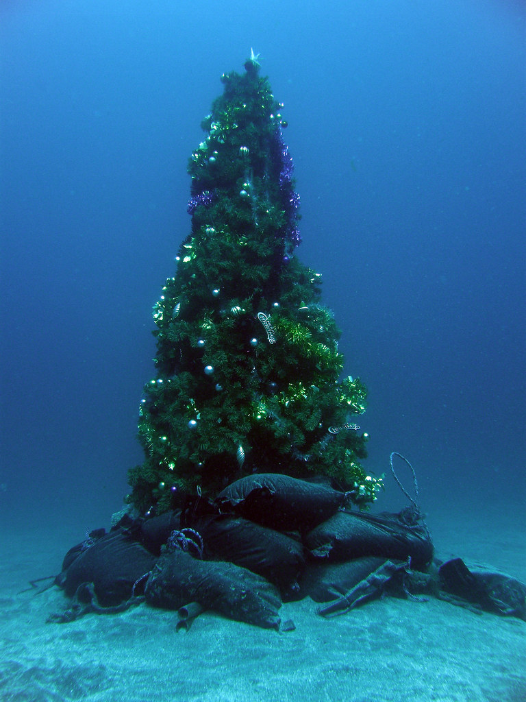 Underwater christmas tree | [MAP by ALPSLAB] | crawl_ray ...