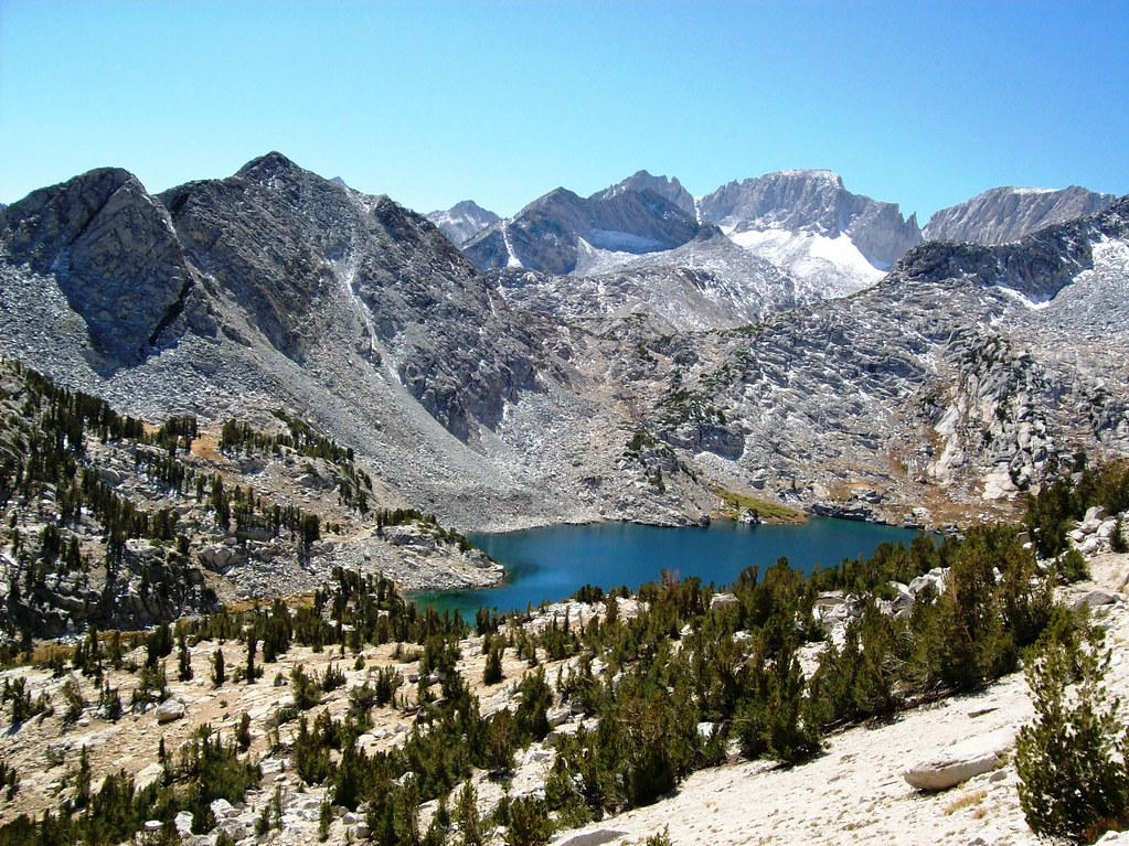 Ruby Lake Nestled Below The Crest Of The Eastern Sierra Mo