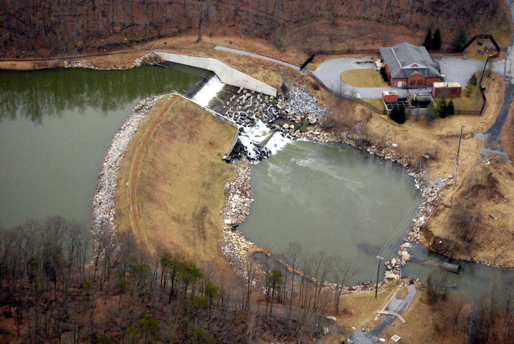 Linganore Dam | Dam at one end of Lake Linganore in Maryland… | avi8tor4fn | Flickr