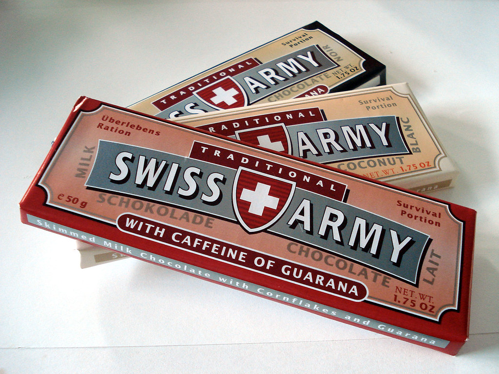 Swiss Army Brand Chocolates I Doubt These Are Actually