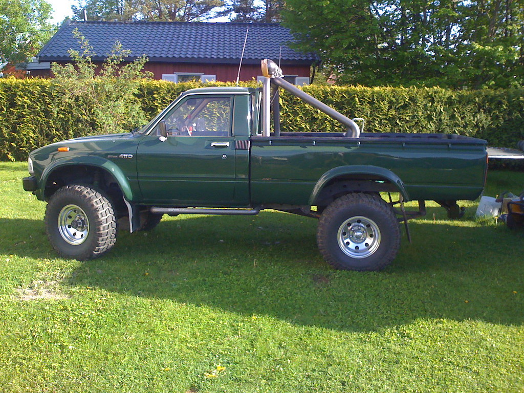 Most Reliable Pickup Truck Hilux Mk1 Probably The Most Reliable Pickup Ever Made I J Flickr
