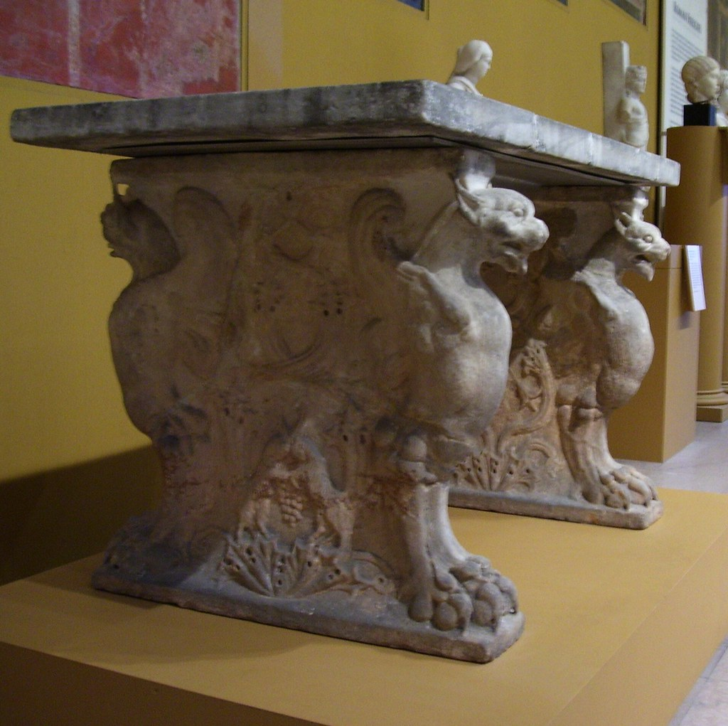 Table Cartibulum Table Cartibulum Roman Early