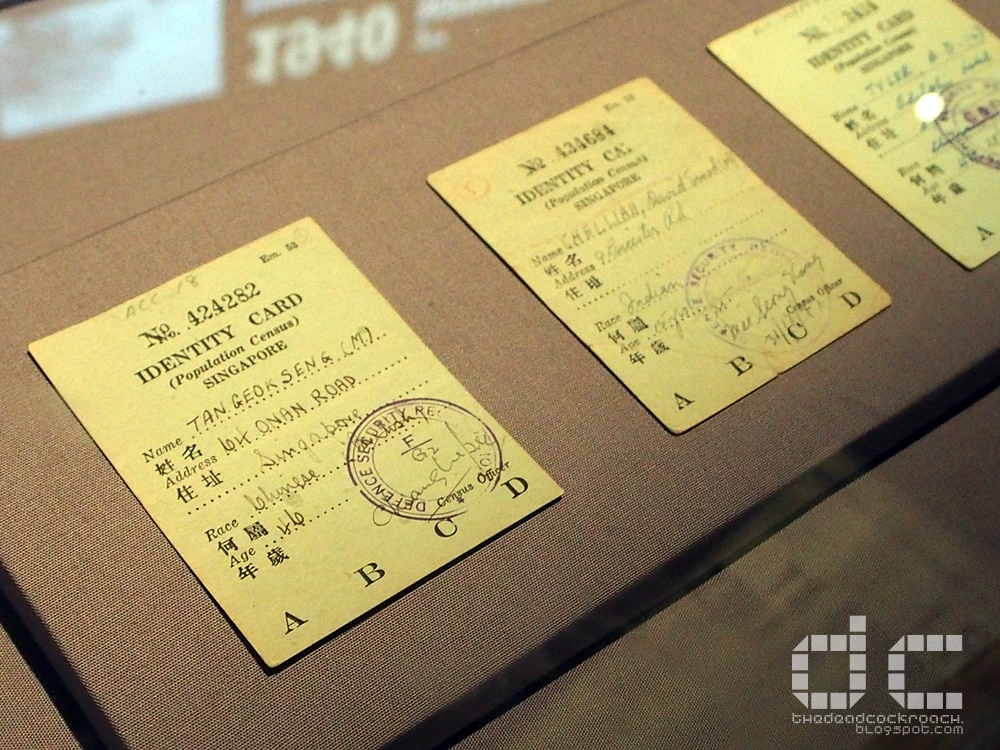 fall of singapore, ford factory, ford motor factory, japanese occupation, museum, old ford factory, second world war, syonan, world war 2, ww2, wwii,syonan gallery,identity card