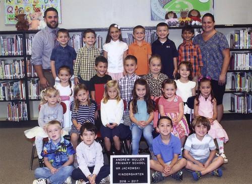 2016 Kindergarten Class picture 1