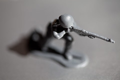 Kneeling toy soldier | by yngvardo