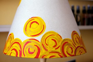 My Hand-painted Lamp | by Noell