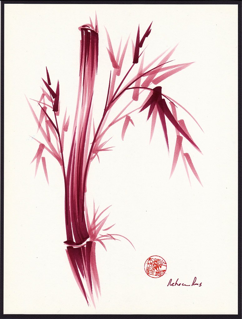 Chinese Zen Drawings Inspire Orginal Chinese