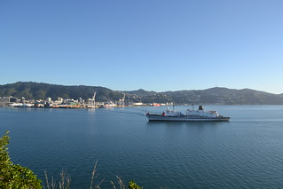 THE CALIFORNIA MARITIME ACADEMY'S GOLDEN BEAR ARRIVES IN WELLINGTON - Sunday 29, 2011. | by US Embassy New Zealand