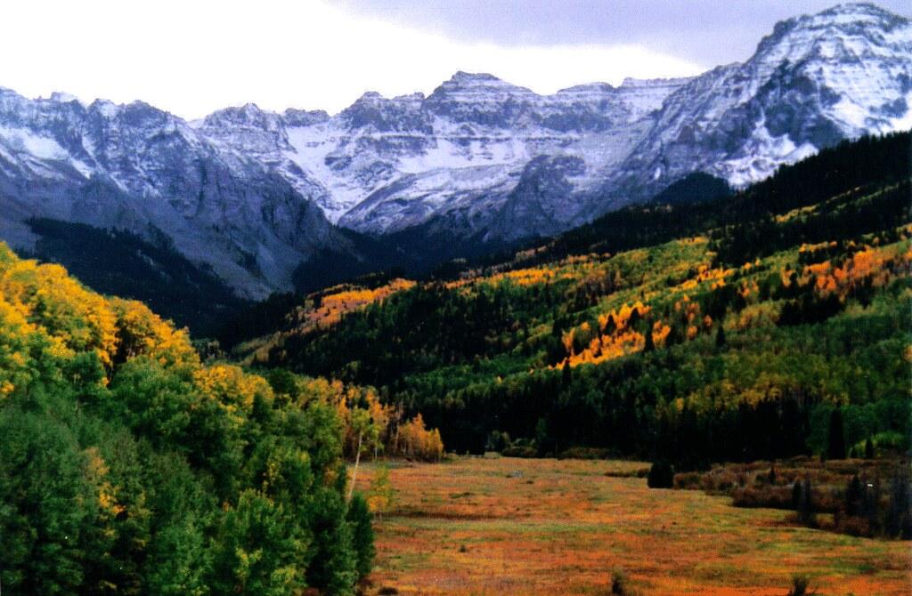 Sneffels Range Near Ridgeway Colorado Loren Daniels