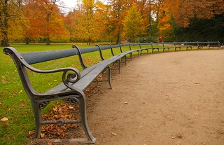 Park benches | by pwiwε