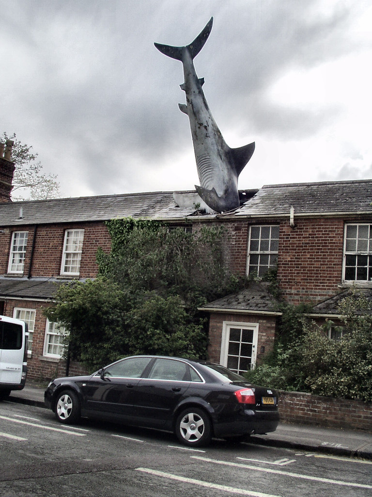 This House With Bluestone Walls Overlooks The Landscape: The House With The Shark Through The Roof, Headington, Oxf
