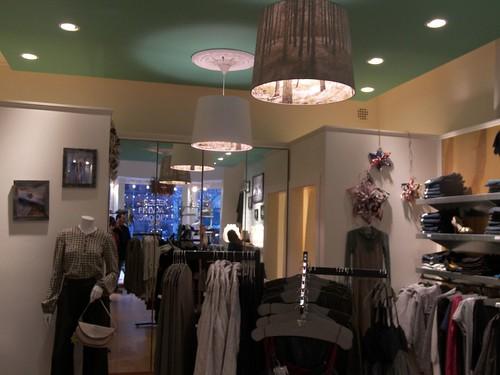 Clothing stores on newbury street