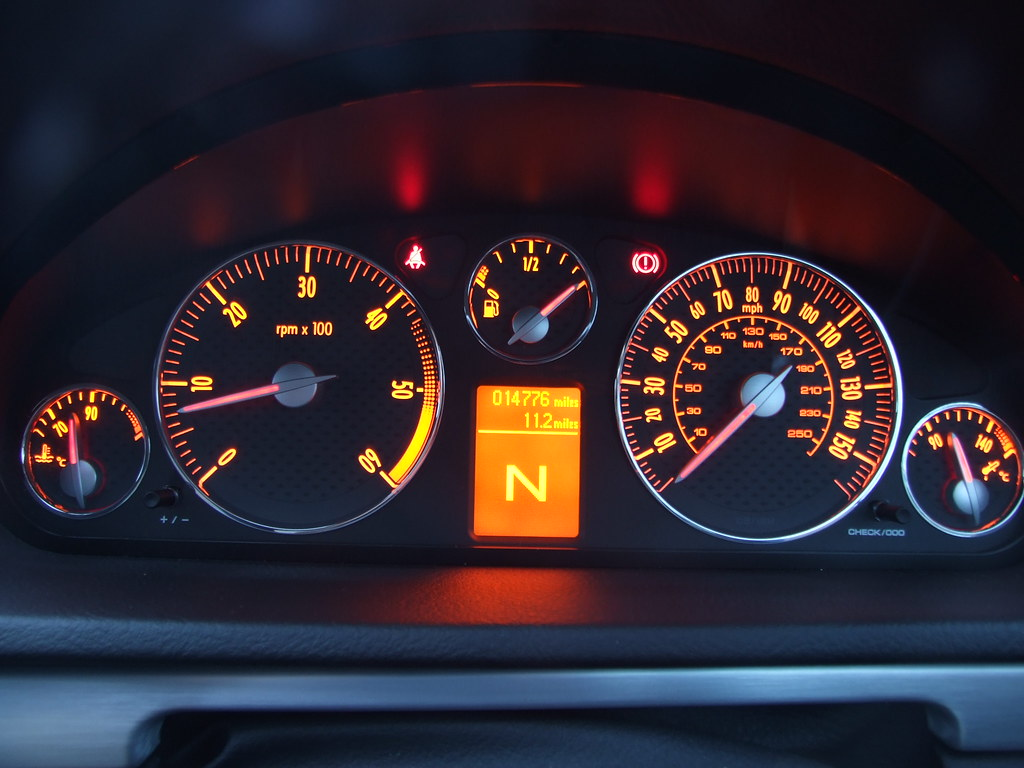 Peugeot 407 Coupe Dashboard Illuminated Left To Right Co Flickr