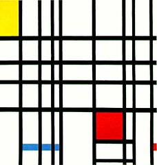 Composition with Red Yellow and Blue (Piet Mondrian) | by uhuru1701