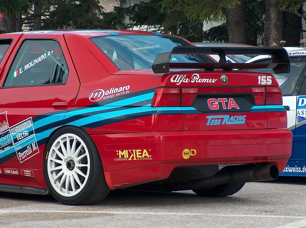 Alfa Romeo 155 Gta Tiziano Maraner Flickr